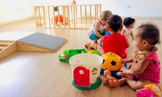 Creche Bebê 6 Meses Jardim Textil - Creche Bebê 6 Meses