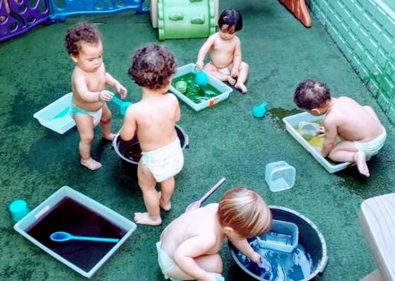 Creche Bebê de 7 Meses Parque São Jorge - Creche Bebê de 7 Meses