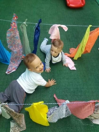 Creche Infantil Bebê Jardim Textil - Creche Infantil para Bebê