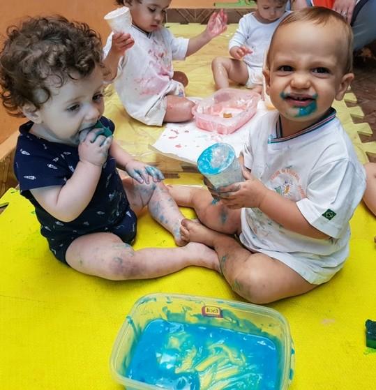 Creche para Bebê de 5 Meses Onde Tem Jardim Itália - Creche Bebê 6 Meses
