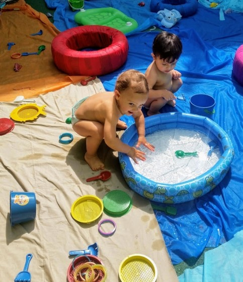 Creche para Bebê Onde Tem Água Rasa - Creche Bebê de 2 Anos