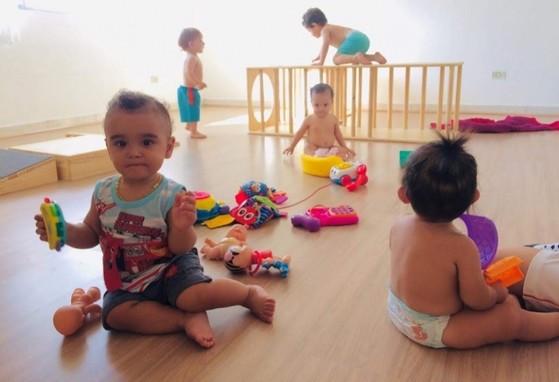 Creche para Bebê Tatuapé - Creche Bebê 6 Meses