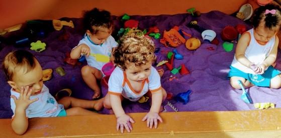 Creches de Bebê Jardim Textil - Creche de Bebê