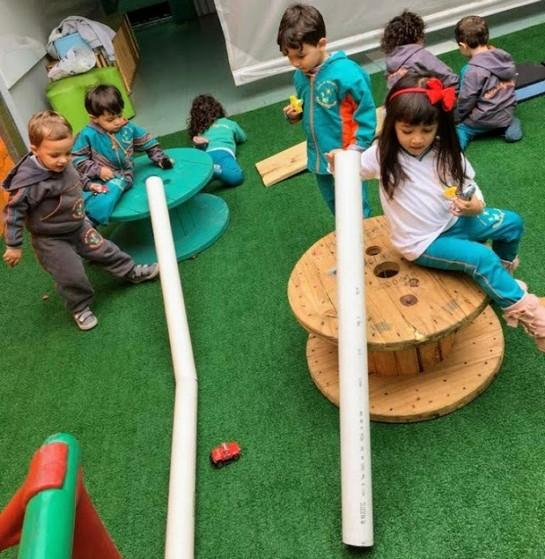 Maternal Particular Onde Tem Jardim Textil - Maternal e Pré Escola