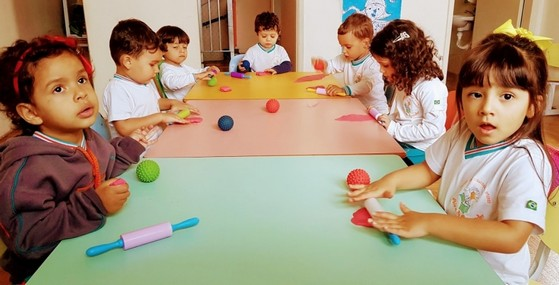 Pré Escolas 3 Anos Jardim Anália Franco - Pré Escola Particular
