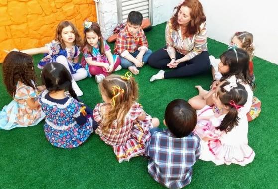 Procuro por Pré Escola com Inglês Vila Guarani - Pré Escola com Inglês