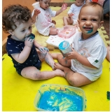 creche para bebê de 5 meses onde tem Vila Paulina