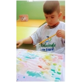 escolas infantis meio período Vila Araci