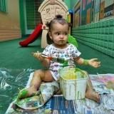 inscrição para creche bebê 6 meses Jardim Guanabara