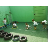 onde encontro creche infantil meio período Vila Santa Clara